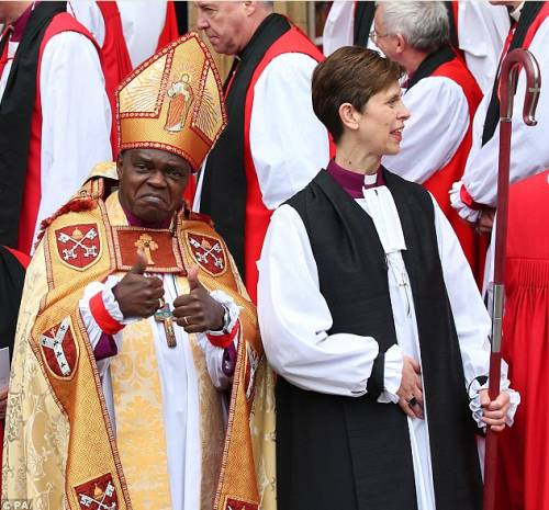 епископша Либби Лейн