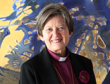 Женщина-епископ Хельга Хаугланд Бюфуглин