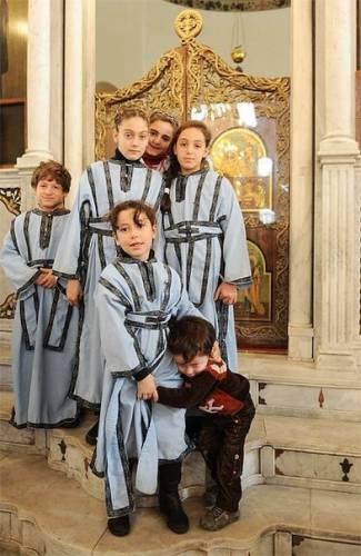 Иподиакониссы. Антиохийская Православная Церковь